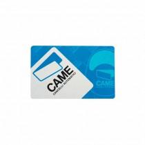 Carte transpondeur format ISO 7810 - 7813 Came TST01