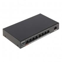 Dahua PFS3009-8ET1GT-96 Switch unmanaged 7 Ports PoE + 1 Port Hi-PoE + 1 Port 10/100/1000Mbps 96W