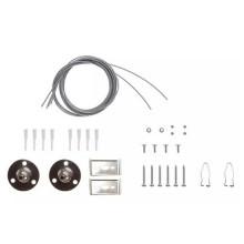 V-TAC Kit per montaggio a sospensione per tubi e plafoniere LED lineari waterproof - sku 8119