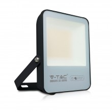 V-TAC Evolution VT-4961 Faro led 50W slim alluminio nero super efficienza 160LM/W bianco freddo 6400K IP65 - SKU 5919