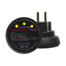 Professional socket tester, RCD & Polarity test Uniks RAPIDTEST