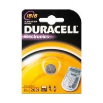 Batteria a litio Bottone Duracell 1616 3V - Confezione da 1pz
