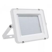 V-TAC PRO VT-156 Faro led 150W slim alluminio bianco chip Samsung SMD alta luminosità bianco freddo 6400K - SKU 775