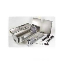 Cassetta portante in acciaio inox con sistema di sblocco Brevettato per attuatore 770N FAAC 490110