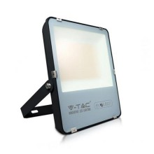 V-TAC Evolution VT-49161 100W Led Floodlight black slim smd Super Bright 160LM/W cold white 6400K IP65 - SKU 5921