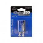 Batterie ricaricabili pronte all'uso 1pcs standard 9V- 200mAh Carica500 Beghelli