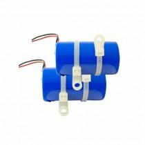 Kit 2 Batteries lithium chloride 3.6 V 19Ah Politec SA/BK2