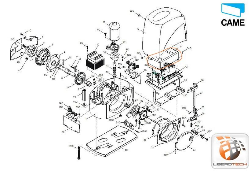 calotta piccola scheda elettronica bx 243 119ribx038. Black Bedroom Furniture Sets. Home Design Ideas