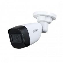 Dahua HAC-HFW1500C-A telecamera bullet hdcvi ibrida 4in1 2K uhd 5Mpx 2.8MM audio osd plastica IP67