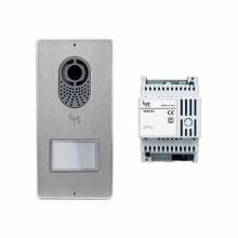 Kit Base videocitofonico con posto esterno Lithos + alimentatore Bpt KIT FREE-LVC 62621040