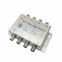 Surge protector voltage limiter BNC 4 CH 10KA