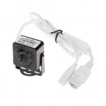 Micro caméra IP 3mpx hd+ 1536p pinhole 3.7MM poe metal slot sd IP20