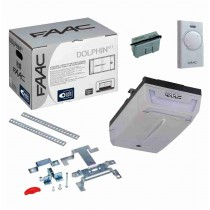 FAAC DOLPHIN KIT safe garage door and overhead garage door 24V