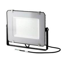V-TAC PRO VT-156 Faro led 150W slim alluminio nero chip Samsung SMD alta luminosità bianco naturale 4000K - SKU 772