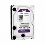 "Hard Disk HD Sata 6 Gb/s 3.5"" Western Digital Purple 3TB - WD30PURZ"