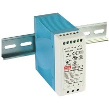 Switching power supply DIN-rail 40W 12V DC 3.33A Meanwell MDR-40-12