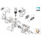 Gear motor box BX-E BX-E241 – 119RIBX014