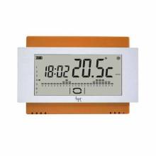 Chronothermostat écran tactile mur batterie orange Bpt TH/500 OR
