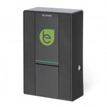 Smart wall box per ricariche di veicoli elettrici 1 Presa Tipo 2 1P+N+T 32A 230V~7,4kW IP54 IK08 - Scame 205.W17-B0