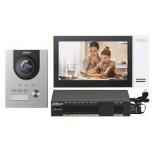 """Dahua DHI-KTP01(S) Kit Interphone vidéo Station extérieure IP et moniteur d'intérieur tactile 7"""" 1080p PoE app mobile & cloud IP55 IK07"""