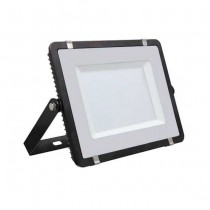 V-TAC PRO VT-150 Faro led 150W slim alluminio nero chip Samsung SMD bianco naturale 4000K - SKU 476