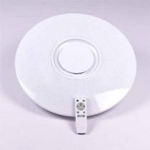 V-TAC SMART HOME VT-5500 dôme led lumière 35W Bluetooth surface RGB+3IN1 dimmable avec télécommande et haut-parleur - sku 1490