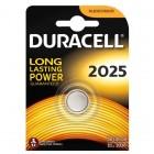 Lithium-Batterie-Taste DURACELL CR2025 3V - Packung mit 1 Stück