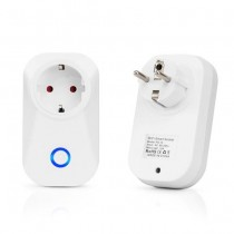 V-TAC Smart Home VT-5001 Wi-Fi plug EU works with smartphone - sku 8415