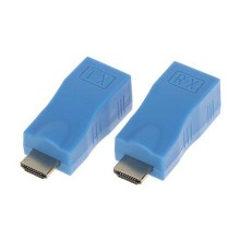 RX+TX ECO extender HDMI 1080p UTP cat5e/cat6 over ip - 30M