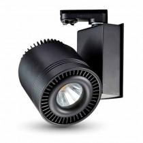V-TAC VT-4535 Lampada track light led da binario cob 33W CRI >95 bianco naturale 4000K corpo nero - sku 1234