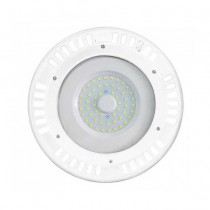 V-TAC VT-9065 50W LED industrial lights High Bay ufo white body IP44 cold white 6400K - SKU 5611