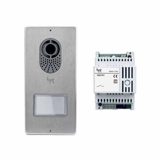 Kit base videocitofonico con posto esterno lithos for Bpt thermoprogram th 24 prezzo