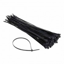 Cable TIE clips for wiring 4.2x300mm Black 100pcs