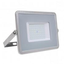 V-TAC PRO VT-56 Projecteur LED 50W slim gris Chip Samsung smd Haute Lumens blanc froid 6400K  - SKU 765