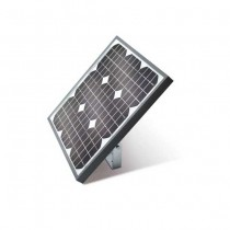 Photovoltaic panel for 24V supply with maximum power 15W