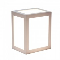 V-TAC VT-822 Lampada applique LED 12W wall light white cube bianco caldo 3000K - sku 8334