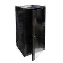 """Hanging Rack Cabinet Black RAL9004 19"""" 27U 600mm"""