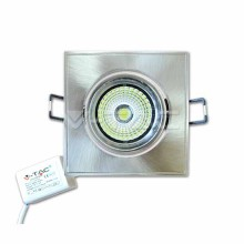 5W LED Downlight COB Square Changing Angle S/N VT-1105SQ SKU 1132 White 6000K
