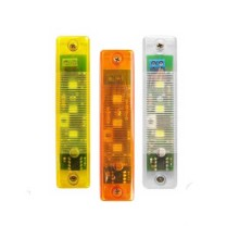 Signal light with LED 12/24V fixed & flashing light FLASH-IN