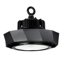 V-TAC PRO VT-9-103 100W LED industrial UFO chip samsung smd cold white 6400K dimmable Black body IP65 - SKU 584