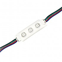 V-TAC VT-50506 0,72W LED Module SMD5050 0,72W 12V Multicolore RGB Étanche IP67 - sku 5134