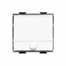 Pushbutton 1P (NO) 10A 250V lightable nameplate Bticino Matix AM5008