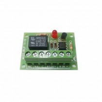 Module 1 relay opto-isolated 12V 1A exchange RLF S0514