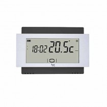Touch-Screen-Thermostat Wand Batterie schwarz Bpt TA/500 BK