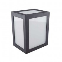 V-TAC VT-822 Lampada applique LED 12W wall light cube nero bianco freddo 6400K - sku 8342