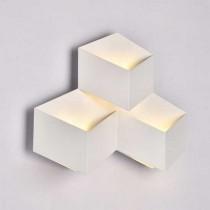 V-TAC VT-709 9W Wall Light Aluminium white Body IP20 day white 4000K - SKU 8222