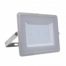 V-TAC PRO VT-100 100W Led Floodlight grey slim Chip Samsung SMD cold white 6400K - SKU 474