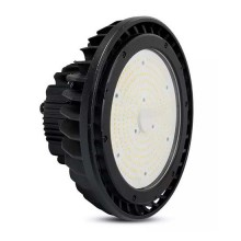 V-TAC PRO VT-9-200 Lampes Industrielles highbay LED 200W chip samsung haute lumen 4000K meanwell driver corp noir - SKU 58011