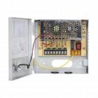 Rack alimentazione a commutazione 12V DC 3.3A 4x825mA CCTV