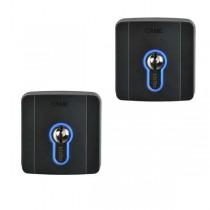 Kit n.2 Outdoor key selector with cylinder lock DIN Came SELD1FDG - 8K06SL-004